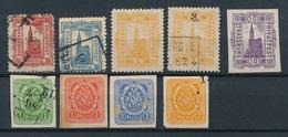 CK-210: FRANCE: Lot  Avec Poste Privée  STRASBOURG 1886/1900 Sous Occup Allemande - France