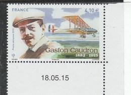 FRANCE POSTE AERIENNE 2015 GASTON CAUDRON NEUF AVEC DATE - PA79 - PA 79 - - Airmail