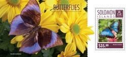 SOLOMON ISLANDS 2014 SHEET BUTTERFLIES PAPILLONS SCHMETTERLINGEN BORBOLETAS FARFALLE MARIPOSAS INSECTS Slm14602b - Salomon (Iles 1978-...)