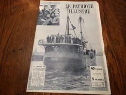 Le Patriote Illustré N° 46 Du 17/11/1957.Les Belges Dans L'Antartique,a La Découverte Du Ciel,parade Rouge à Moscou - Informations Générales