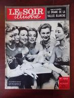 Le Soir Illustré N° 1243 Mgr. Makarios - Jack Palance & Ida Lupino - Grace Kelly - Drame à Chamonix - Margaret Truman... - Informations Générales