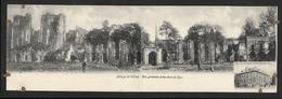 Carte Panoramique Abbaye De Villers-la-Ville Vue Générale Prise Dans La Cour (Lot 602) - Villers-la-Ville