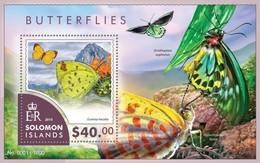 SOLOMON ISLANDS 2015 SHEET BUTTERFLIES PAPILLONS FARFALLE MARIPOSAS SCHMETTERLINGEN BORBOLETAS INSECTS Slm15406b - Salomon (Iles 1978-...)