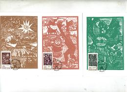 6 Carte Maximum 1984 Conte - Faroe Islands