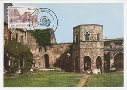 Maximum Card Belgium 1975 Abbey St. Bavo - Kerken En Kathedralen