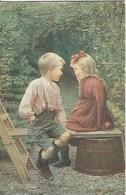 CPA Suisse  * Fille Et Garçon * - Enfants