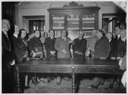 """0839 """"TORINO - NUOVA SEDE DEL C.A.I. - VIA BARBAROUX NR. 1 -  5/3/1933"""" LA FOTOGRAFICA COMM. GHERLONE - Orte"""