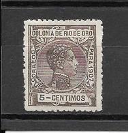 Alfonso XIII. N°22 Chez Edifil. (Voir Commentaires) - Rio De Oro