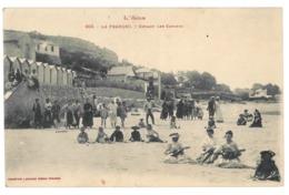 11 La Franqui, Devant Les Cabines (7804) - France
