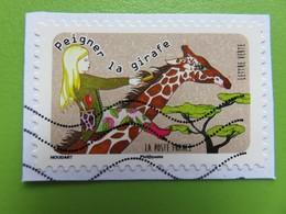 Timbre France YT 1320 AA - Expressions Inspirées Par Les Animaux - Peigner La Girafe - 2016 - Francia