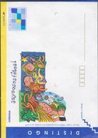 FRANCE 1 Entier Postal Enveloppe DISTINGO N°YT 2005-E - 1995 - Joyeuses Fêtes - Prêts-à-poster: TSC Et Repiquages Semi-officiels