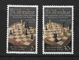 GIBRALTAR 2012 INTERNATIONAL CHESS TOURNAMENT PAIR - Gibraltar