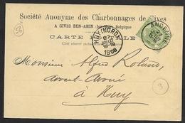 2 Cartes Postales Privées William Delhaxhe Et Société Anonyme Des Charbonnages De Gives (lot 604) - Sonstige