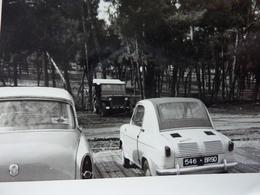 Aronde Simca, Vespa 400 Et Jeep (photo 1959) - Automobiles