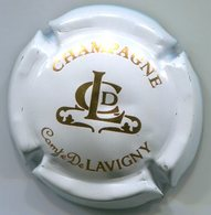 CAPSULE-CHAMPAGNE COMTE DE LAVIGNY N°02x Blanc & Or-NR - Autres