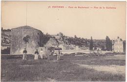 86 - POITIERS (Vienne) - Pont De Rochereuil - Plan De La Guillotine / Animation - Poitiers
