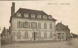 CHABLIS HOTEL DE VILLE - Chablis