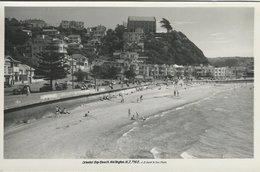Oriental Bay Beach  Wellington New Zealand  Photo  S-4621 - Fiches Illustrées