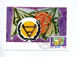 Carte Maximum 1981 Handicap - Cartes-Maximum (CM)