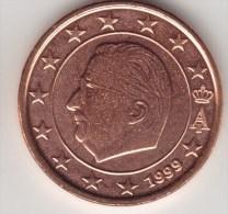 @Y@     Belgie  1 Cent 1999 Grote  Ster    UNC - Belgium