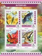 SOLOMON ISLANDS 2016 SHEET BUTTERFLIES PAPILLONS BORBOLETAS FARFALLE SCHMETTERLINGEN MARIPOSAS INSECTS Slm16501a - Salomon (Iles 1978-...)