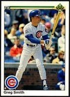 BASEBALL - UPPER DECK 1990 - GREG SMITH - CUBS - CARD - Baseball