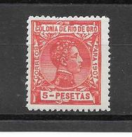 Alfonso XIII. N°32 Chez Edifil. (Voir Commentaire) - Rio De Oro