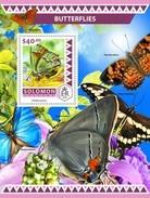 SOLOMON ISLANDS 2016 SHEET BUTTERFLIES PAPILLONS BORBOLETAS FARFALLE SCHMETTERLINGEN MARIPOSAS INSECTS Slm16501b - Salomon (Iles 1978-...)