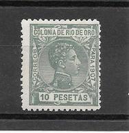 Alfonso XIII. N°33 Chez Edifil. (Voir Commentaire) - Rio De Oro