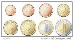 @Y@  Nederland    Serie  2010   1 Ct - 2 Euro   UNC  8  Munten - Pays-Bas