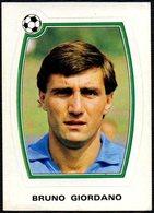 FOOTBALL - PANINI - SUPERCALCIO 1985/1986 - NAPOLI - BRUNO GIORDANO - STICKER N. 141 - Calcio