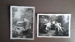 2 PHOTOS - TRACTEUR A CHENILLES - AGRICULTURE - Automobiles