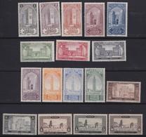 Maroc  .     Yvert  .    63/79       .   **    .   Neuf SANS  Charniere   .   /   .    MNH - Maroc (1891-1956)