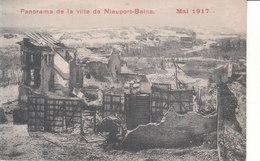 Nieuport Bains (Mai 1917) - Panorama De La Ville - Nieuwpoort