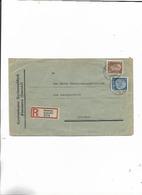 Einschreibebebrief Von Simmern Nach Koblenz 1934/Landesratsamt! - Covers & Documents