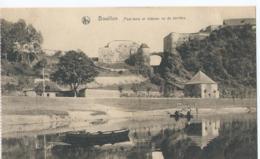 Bouillon - Pont-levis Et Château Vu De Derrière - Bouillon