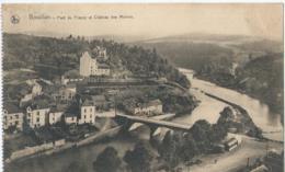 Bouillon - Pont De France Et Château Des Moines - 1925 - Bouillon