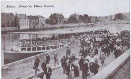Namen - Namur - Arrivée Du Bâteau Touriste - Namur