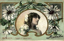 1906  MARGUERITE J'IGNORE SI VOUS M'AIMEZ  ROSALEE - Ilustradores & Fotógrafos