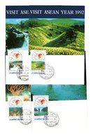 9835 Thailand MK Mi 1504-07 Landschaften - Thaïlande