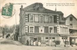 Dep - 92 - MARNE LA COQUETTE Hotel Restaurant De La Tete Noire Et Entrée Du Parc De St. CLOUD - Frankreich