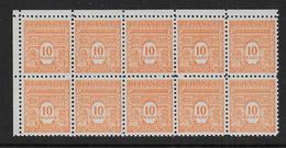 France - N°  619 Bloc De 10 **  - Cote : 375 € - Neufs