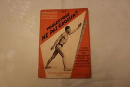 N°-1 /  PUBLICITÉ - Force Et Santé, Collection Publiée Sous La Direction De HENRY DECOIN, Éditions? Bornemann  PARIS  - - Publicités