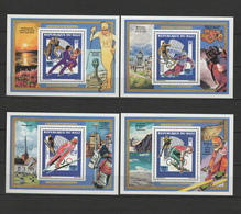 Mali 1994 Olympic Games Lillehammer Set Of 4 S/s MNH - Invierno 1994: Lillehammer