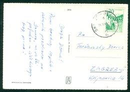 Yugoslavia 1966 Ambulance Railway Post Bahnpost Skopje - Beograd 2 A Postcard - 1945-1992 Socialist Federal Republic Of Yugoslavia