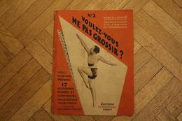 N°-2 /  PUBLICITÉ - Force Et Santé, Collection Publiée Sous La Direction De HENRY DECOIN, Éditions? Bornemann  PARIS  - - Publicités