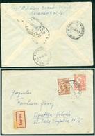 Yugoslavia 1958 Ambulance Railway Post Bahnpost Zagreb - Rijeka 23 - 1945-1992 Socialist Federal Republic Of Yugoslavia