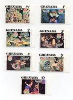 Grenada - 1980 - 7 Francobolli Tematica Disney - Biancaneve E I 7 Nani - Nuovi - (FDC13841) - Disney