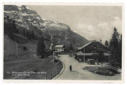 Suisse. Restaurant Col Du Pillon, Scex Rouge (7810) - VD Vaud