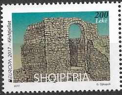 2017 Albanien   Mi. 3545  **MNH  Europa Cept Burgen Und Schlösser - Albanie